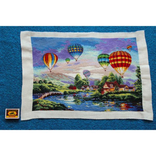 Вышивка парад воздушных шаров