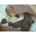 Мужские носки из овечьей шерсти