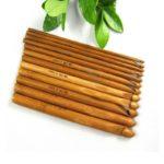 Бамбуковые крючоки для вязания