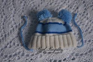 Вязаная шапочка на заказ для ребёнка