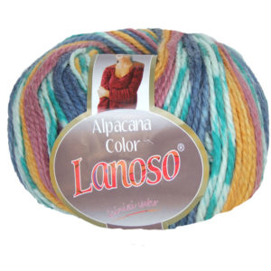 Моток пряжи Lanoso Alpacana color