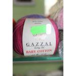 Пряжа Gazzal Baby Coton